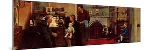 Norman Rockwell Visits a Family Doctor by Norman Rockwell