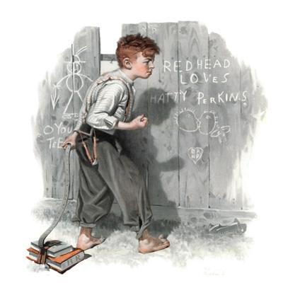 """""""Redhead Loves Hatti"""", September 16,1916"""