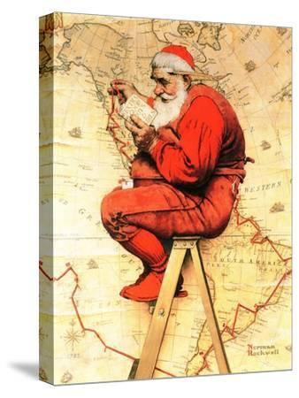 "12/""x20/""Santa Claus HD Canvas print Painting Home Decor Picture Wall art 109932"