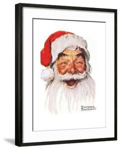 Santa Claus by Norman Rockwell