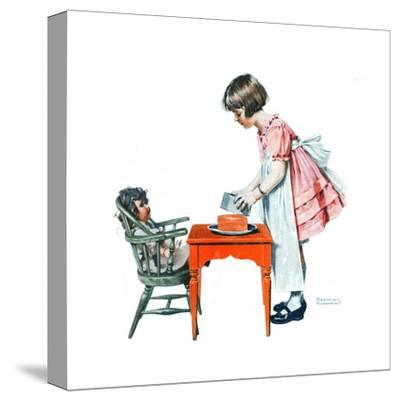 'See How Easy It Is' by Norman Rockwell