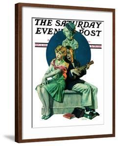 """Serenade"" Saturday Evening Post Cover, September 22,1928 by Norman Rockwell"