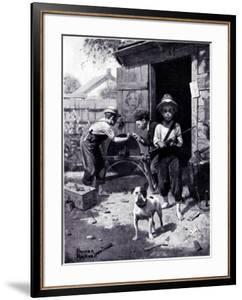 """""""Slim Finnegan"""" B, July 8,1916 by Norman Rockwell"""