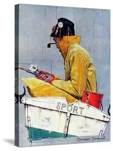 """""""Sport"""", April 29,1939 by Norman Rockwell"""