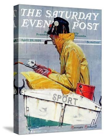 """Sport"" Saturday Evening Post Cover, April 29,1939"