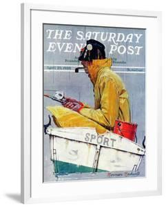 """""""Sport"""" Saturday Evening Post Cover, April 29,1939 by Norman Rockwell"""