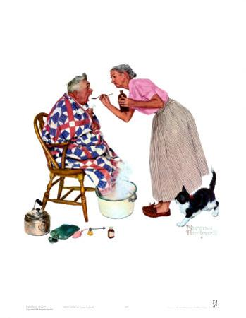 Spring Tonic by Norman Rockwell