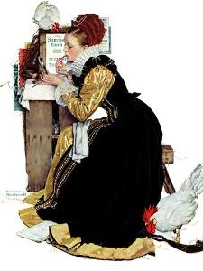 """""""Summer stock"""", August 5,1939 by Norman Rockwell"""