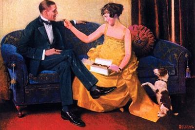Sweets for the Sweet by Norman Rockwell