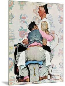 """""""Tattoo Artist"""", March 4,1944 by Norman Rockwell"""
