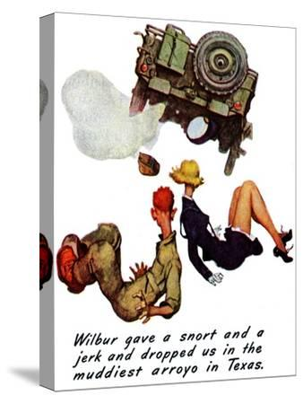 """The Wonderful Life of Wilbur the Jeep"" B, January 29,1944"