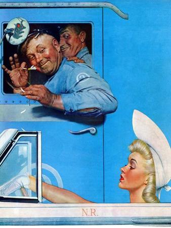 """""""Two Flirts"""", July 26,1941"""