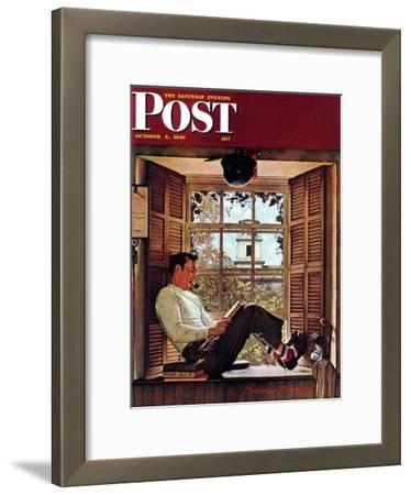 """Willie Gillis in College"" Saturday Evening Post Cover, October 5,1946"
