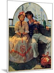 """Yarn Spinner"", November 8,1930 by Norman Rockwell"
