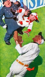 """You Could Look It Up"" page 11, April 5,1941 by Norman Rockwell"