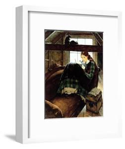 Young Writer by Norman Rockwell