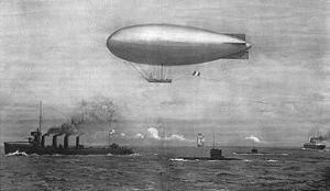 Channel Patrol 1914 by Norman Wilkinson
