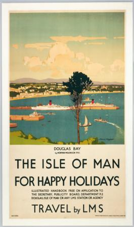 Isle of Man for Happy Holidays, LMS, c.1923-1947