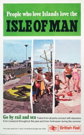 Isle of Man, Pleasure Island, c.1923-1947 by Norman Wilkinson