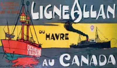 Ligne Allan Canada by Norman Wilkinson