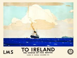 LMS To Ireland by Norman Wilkinson