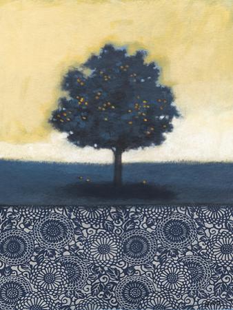 Blue Lemon Tree I by Norman Wyatt Jr.