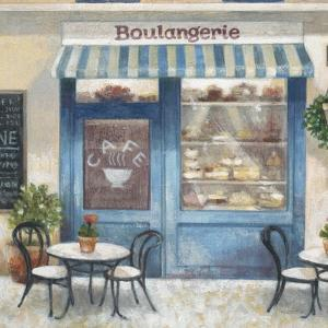 Café Impressions 4 by Norman Wyatt Jr.