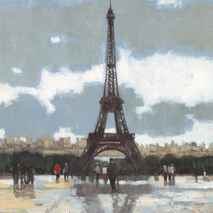 Cloudy Day in Paris I by Norman Wyatt Jr^