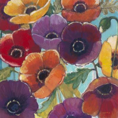 Electric Poppies 2 by Norman Wyatt Jr.