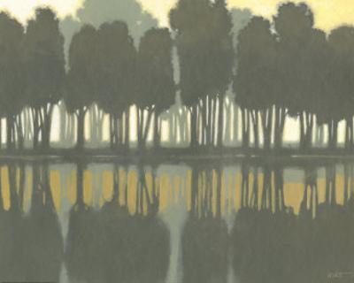 Lake at Dawn II by Norman Wyatt Jr.