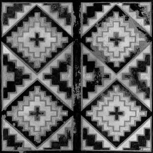 Mudcloth Black and White IV by Norman Wyatt Jr.