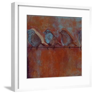 Row of Sparrows I
