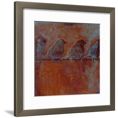Row of Sparrows II