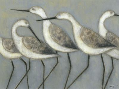 Shore Birds I by Norman Wyatt Jr.