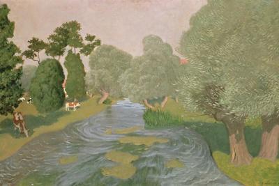 Normandy Landscape, 1903-F?lix Vallotton-Giclee Print