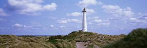 Norre Lighthouse, Lyngvig Fyr, Holmsland Klit_Jutland, Denmark