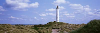 Norre Lighthouse, Lyngvig Fyr, Holmsland Klit_Jutland, Denmark--Photographic Print