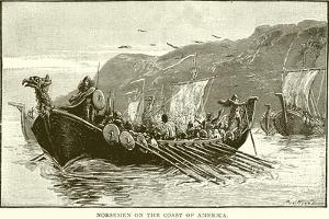 Norsemen on the Coast of America