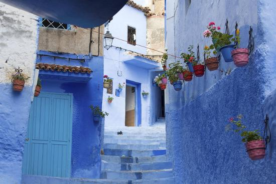 North Africa, Morocco, Chefchaouen District.Details of the City-ClickAlps-Photographic Print