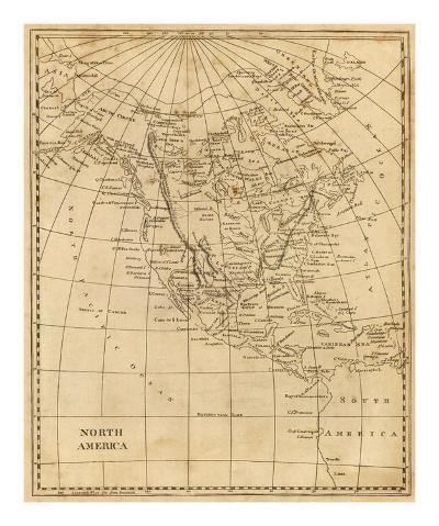 North America, c.1812-Aaron Arrowsmith-Art Print