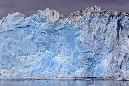 North America, the Usa, Alaska, Columbia Glacier, Abnormal Termination Edge-Bernd Rommelt-Photographic Print