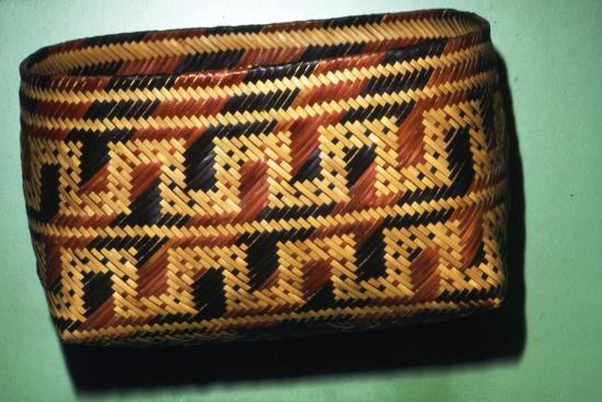 North American Chitimacka Indian Basket-Unknown-Giclee Print