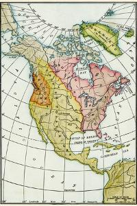 North American Colonies at the Close of the French and Indian War, c.1760