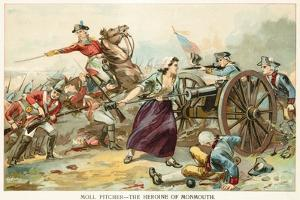 Moll Pitcher - the Heroine of Monmouth by North American