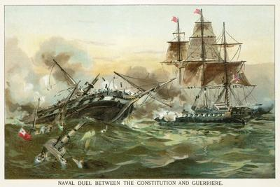 Naval Duel Between the Constitution and Guerriere