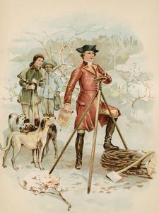 Young Washington, Surveyor by North American