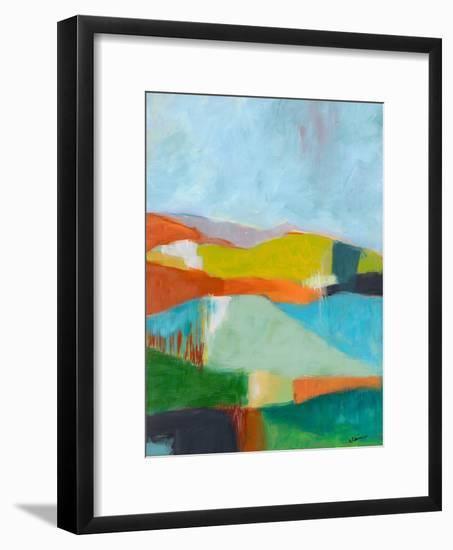 North Bay Hills-Jan Weiss-Framed Art Print