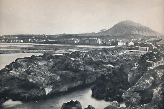 'North Berwick - From the Rocks, Showing North Berwick Law', 1895-Unknown-Photographic Print