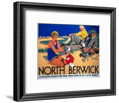North Berwick, LNER, c.1923-Frank Newbould-Framed Art Print