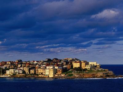 North Bondi Headland at Sunset, Sydney, Australia-Paul Beinssen-Photographic Print
